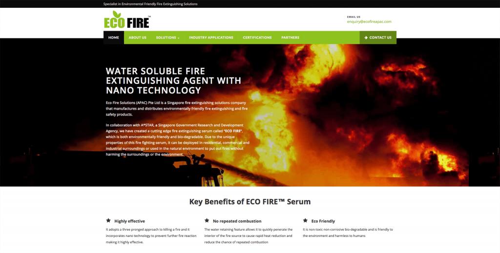 Eco-Fire Website