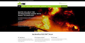 Thinking Notes Projects Showcase - Eco-Fire Website