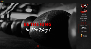 Thinking Notes Projects Showcase - King of Strength Website