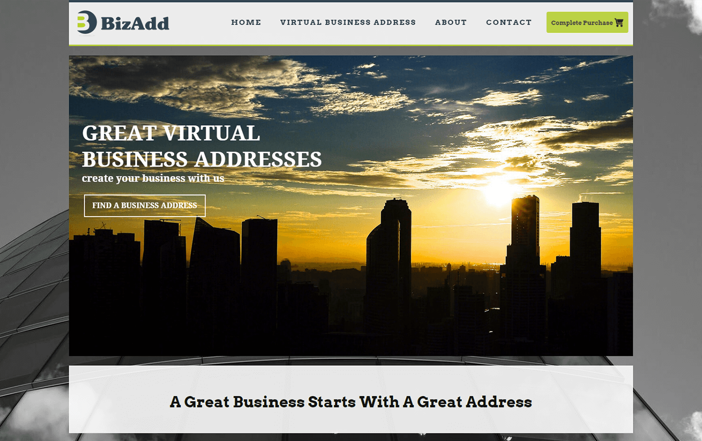 Bizadd Website