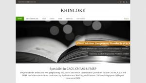 Thinking Notes Projects Showcase - Khinloke Website