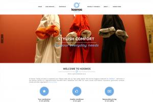 Thinking Notes Projects Showcase - Kosmos Website