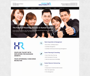 Thinking Notes Projects Showcase - Source Solutions HR Website