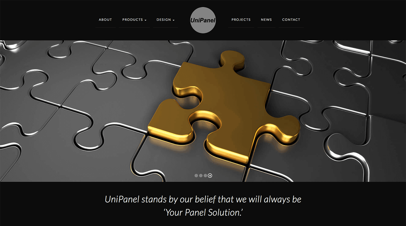 Unipanel Website