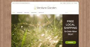 Thinking Notes Projects Showcase - Verdure Garden Website