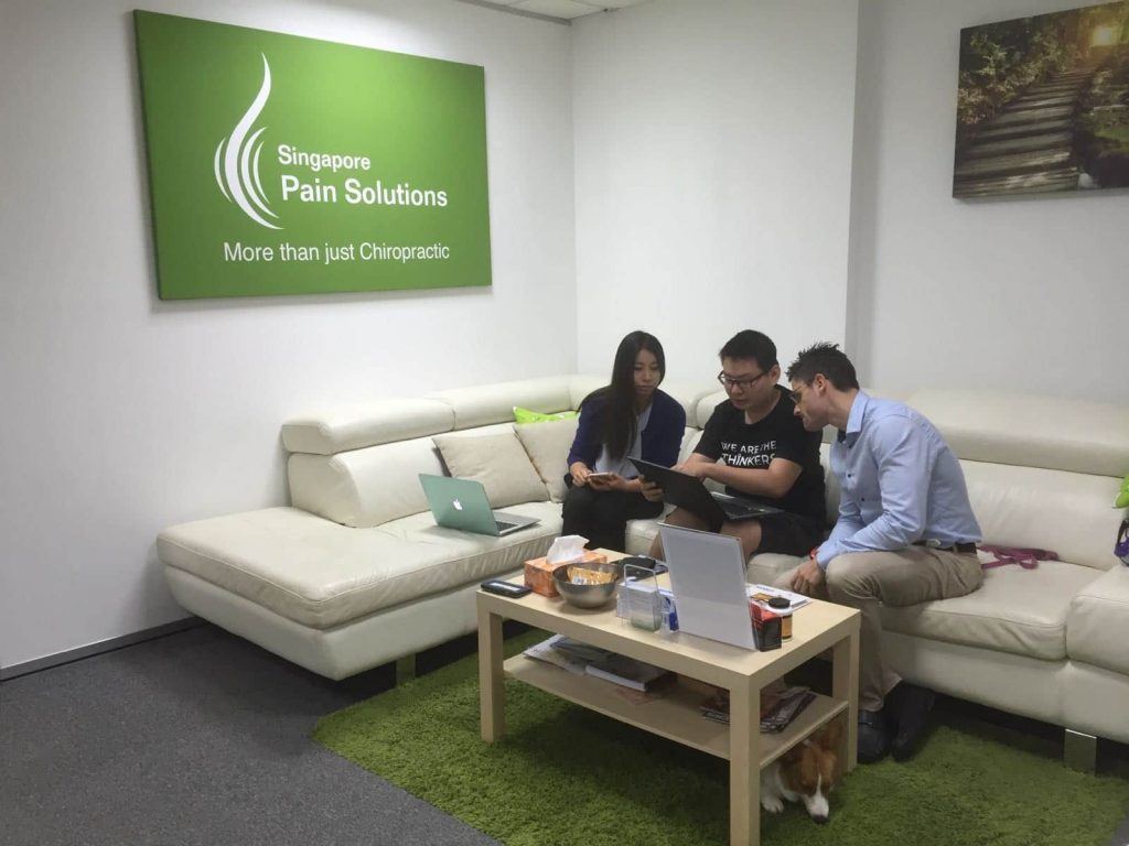 Working with Singapore Pain Solutions on their SEO