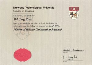 Master of Science in Information Systems