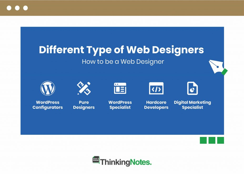How to be a web designer | The 5 Best Types you can be