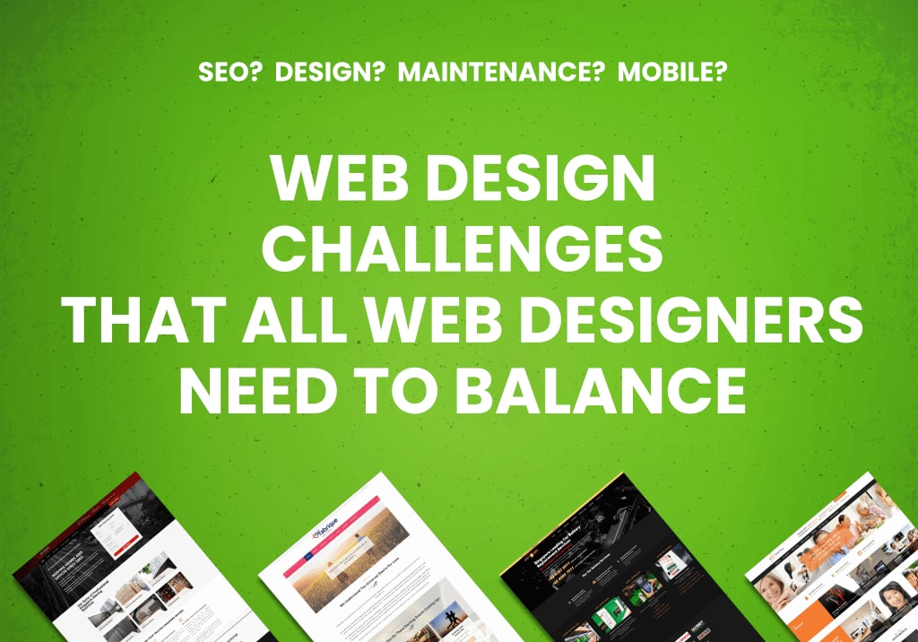 Web Design Challenges