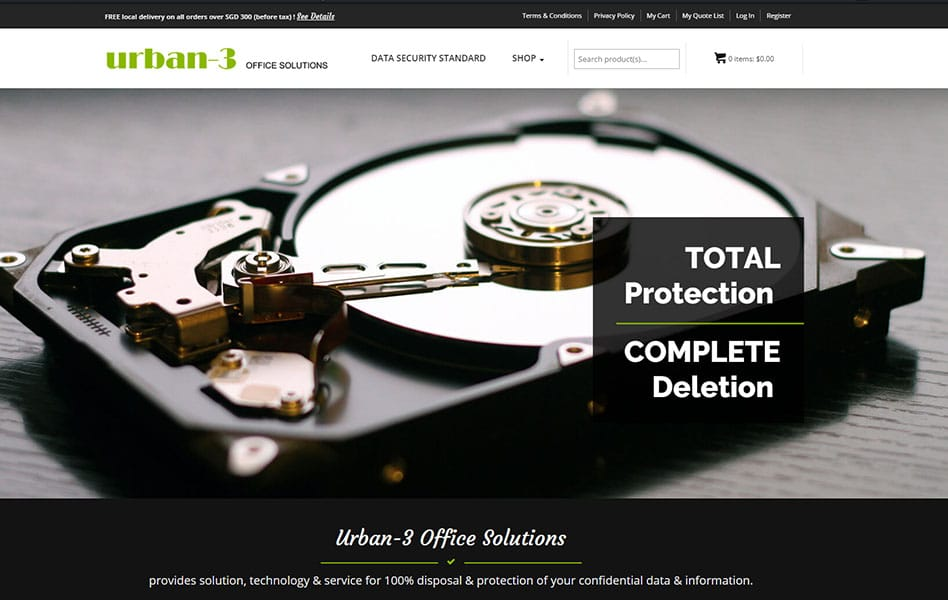 urban-3-screenshot eCommerce Website Design & Development Services