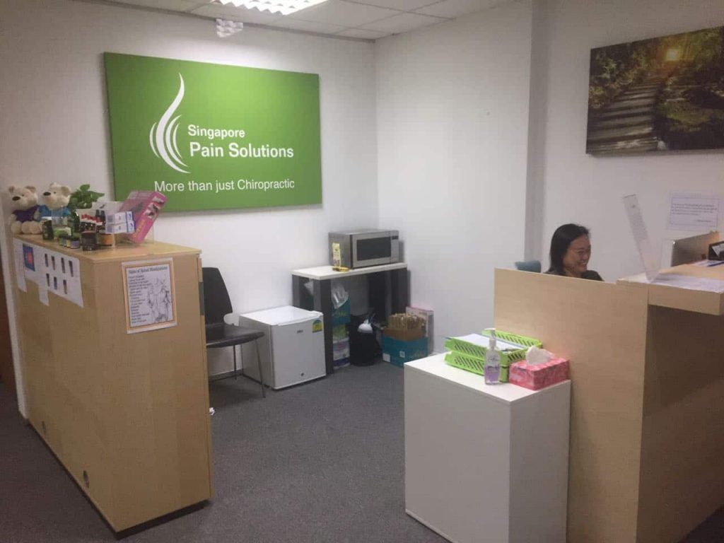 Singapore Pain Solutions Upgraded Treatment Center with their first staff !