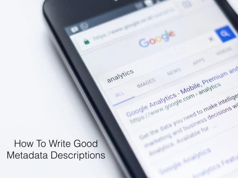 A Beginner's Guide To Writing Good Metadata Descriptions