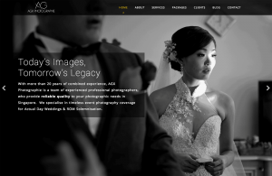 Thinking Notes Projects Showcase - AGX Photographie Website
