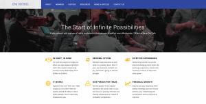 Thinking Notes Projects Showcase - BNI Origins Website