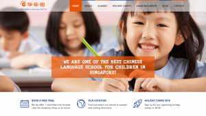Thinking Notes Projects Showcase - SG Little Gems Website