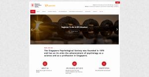 Thinking Notes Projects Showcase - Singapore Psychological Society Website
