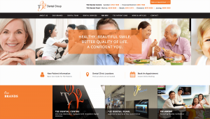 Thinking Notes Projects Showcase - T32 Dental Website