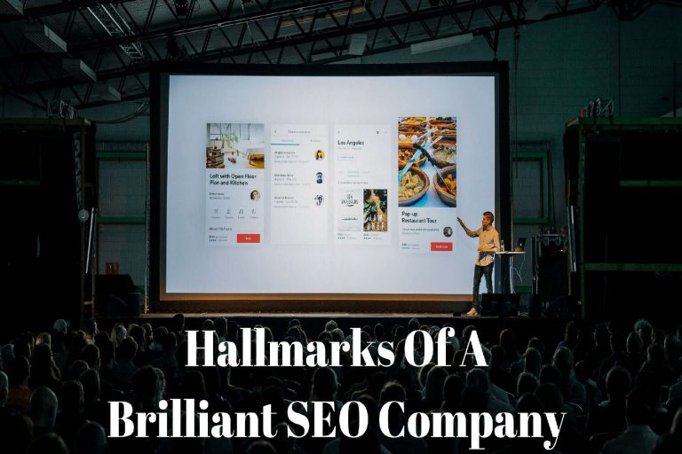 Hallmarks Of A Brilliant SEO Company