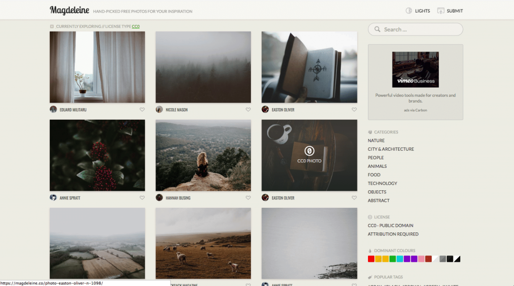 Magdeleine: Free Curated Photo Stock