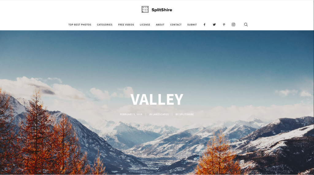 Splitshire-1024x570 The Top 50 Free Stock Photography Websites