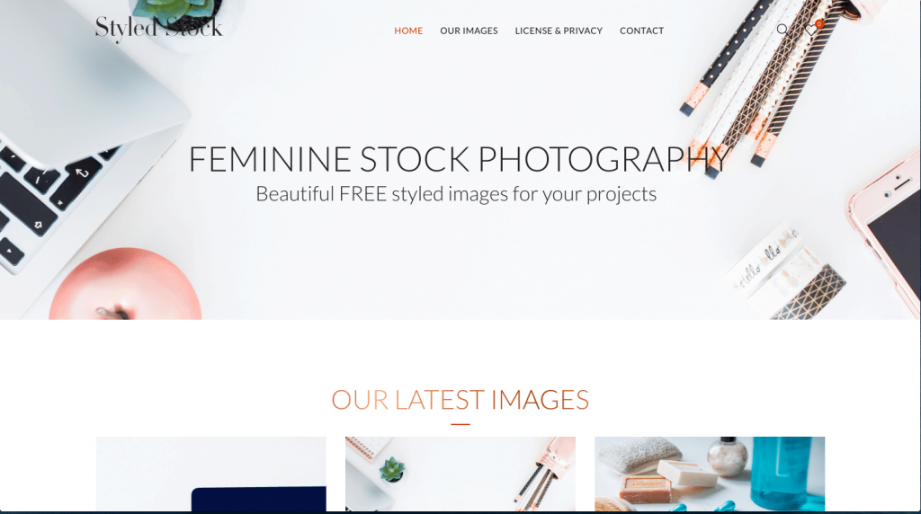 Styled Stock - feminine stock photography