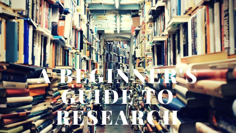 A Beginner's Guide to Research for Blog Articles