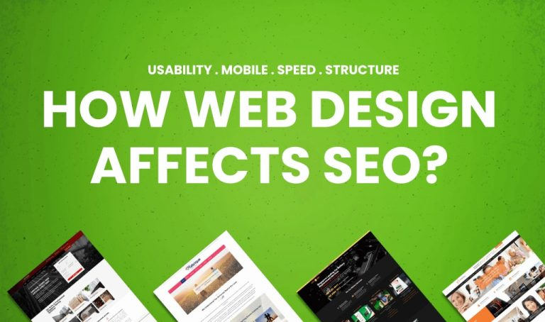 How web design affects SEO?