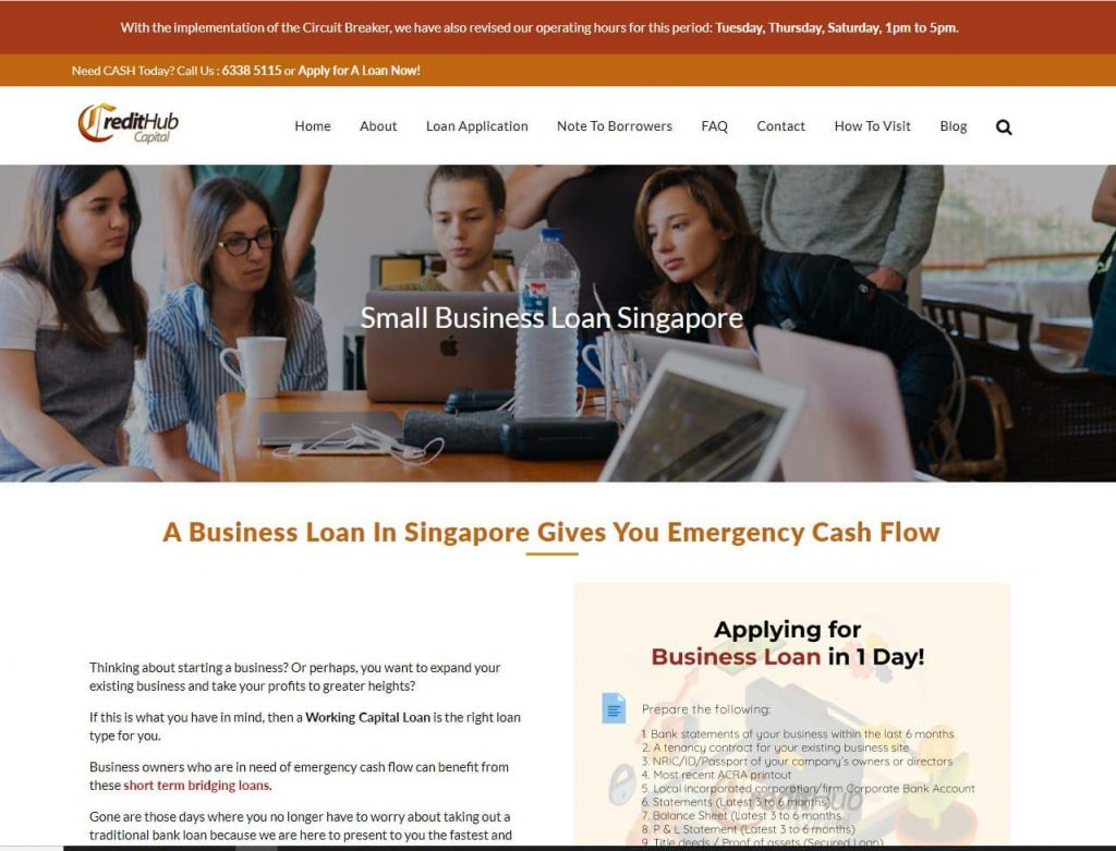 Clear Business Loan Service for SEO