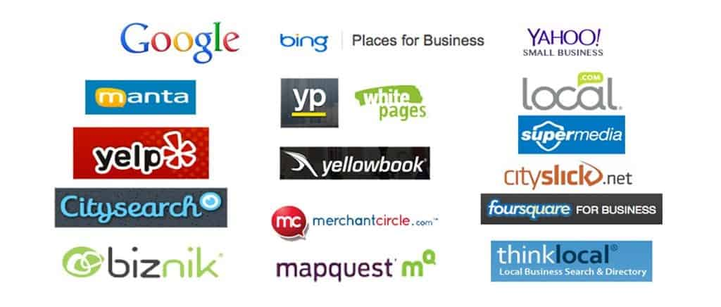 logos of major businesses