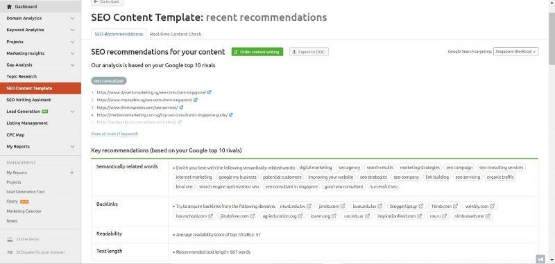 SEMrush_SEO Content Template_example